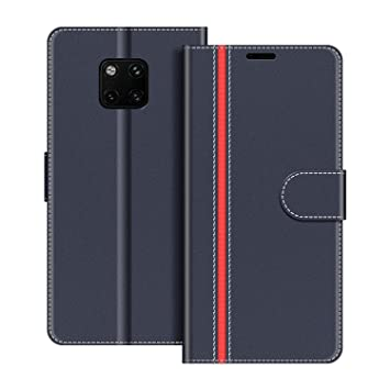 COODIO Funda Huawei Mate 20 Pro con Tapa, Funda Movil Huawei ...