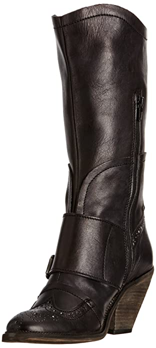 6991e814 Dkode Women's Dallas Cowboy Boots, Black, 5 UK: Amazon.co.uk: Shoes ...
