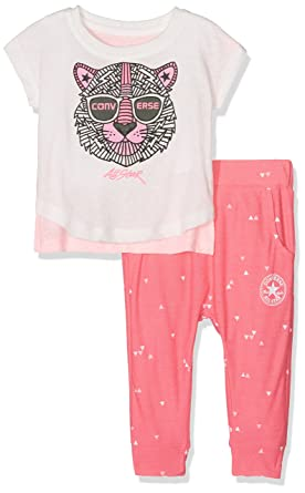bedcd94fc71 Converse Baby Girls  2 Piece Play 18M Clothing Set