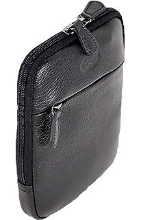 Francinel Sac ultra plat en bandoulière ou en ceinture en cuir grainé  652160G + CADEAU SURPRISE 09b7546503d