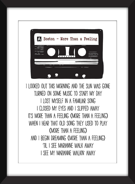 Classic Rock Albums Unframed Print Ideal Gift for Music Fan//Ungerahmter Druck
