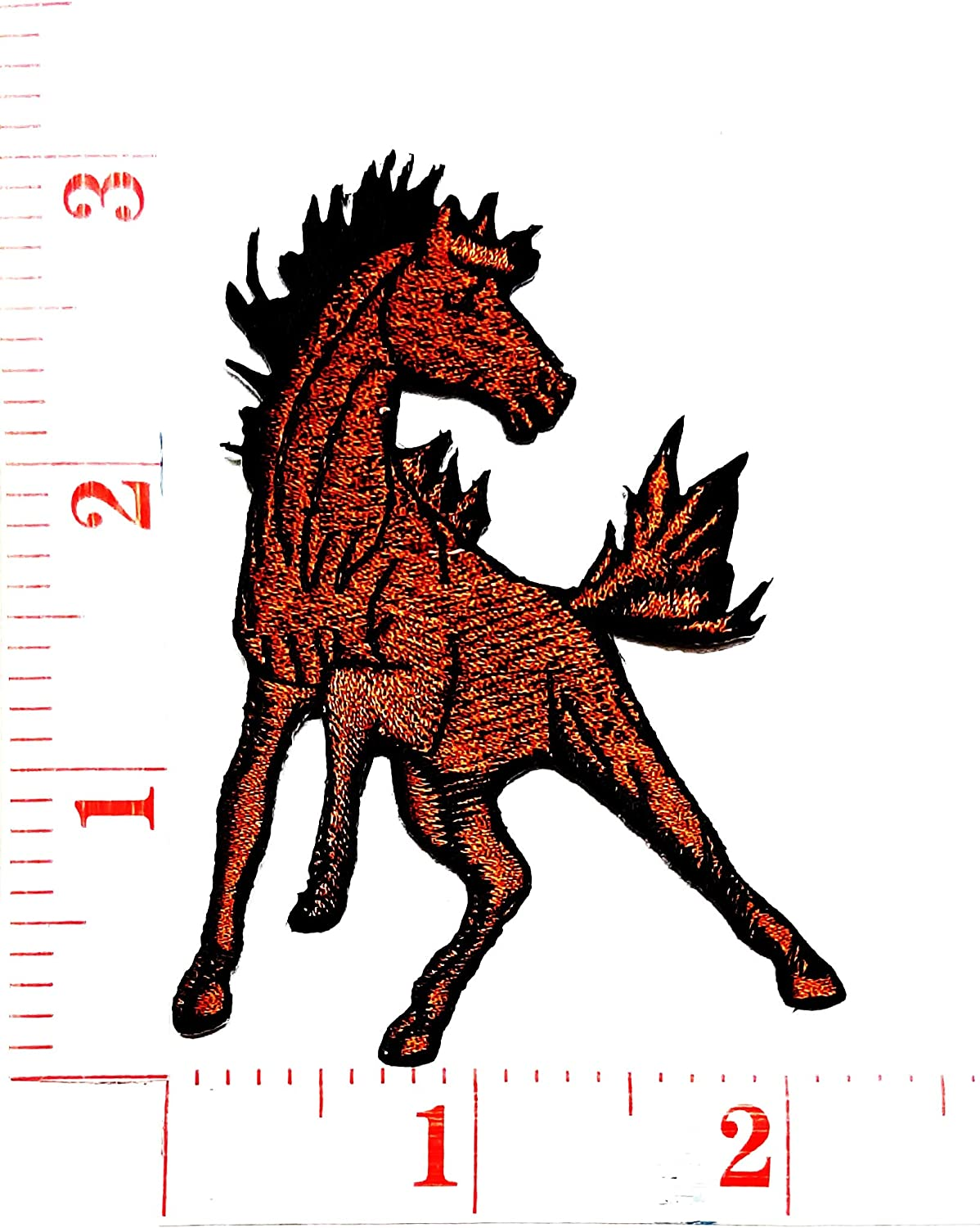 Mustang Pony /& 5.0 Iron On Patch