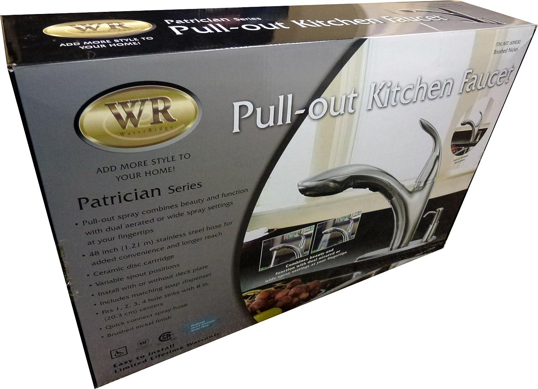Water Ridge Patrician Series Kitchen Faucet: Brushed Nickel ...