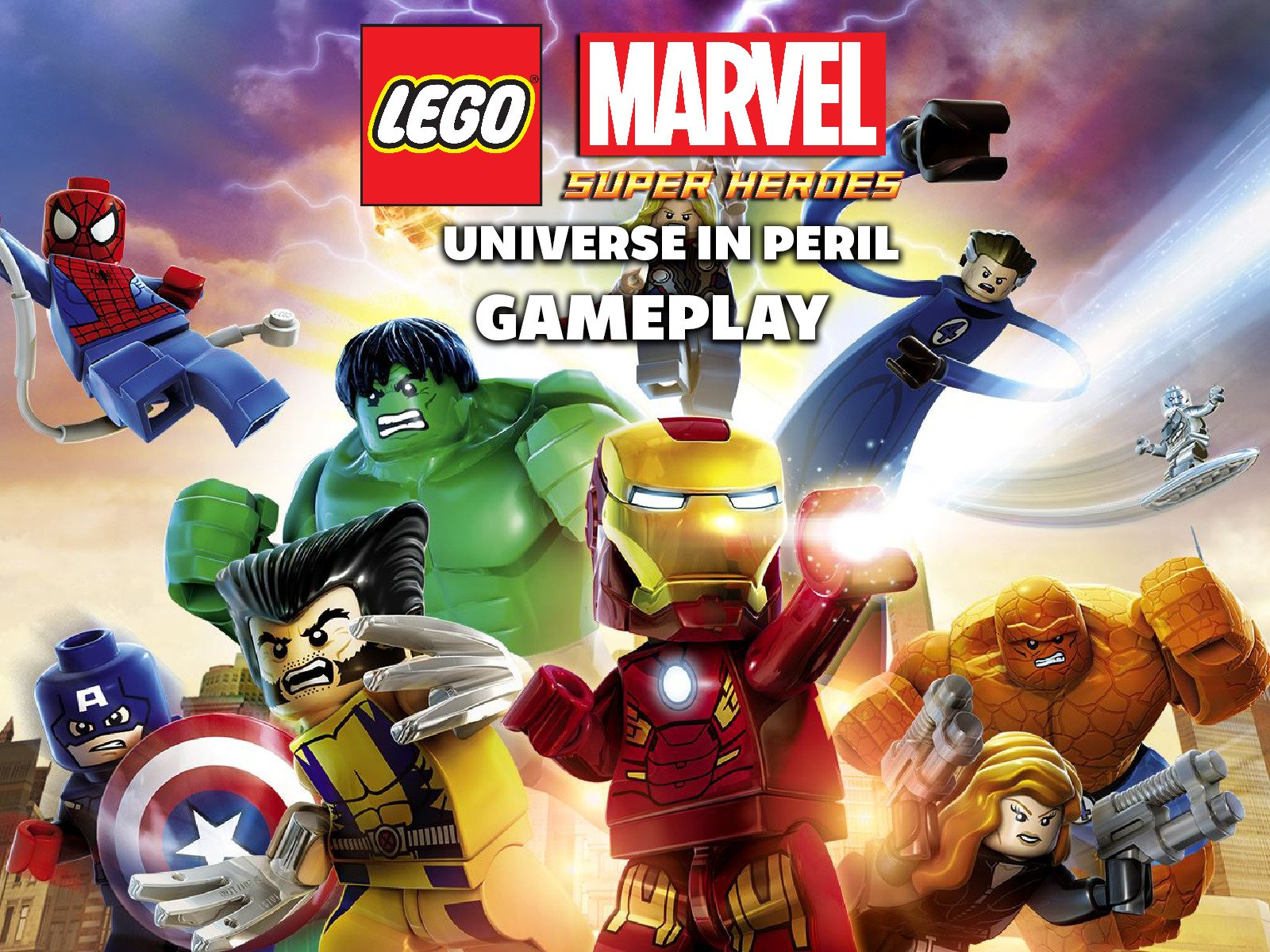 Amazon com: Lego Marvel Super Heroes Universe In Peril