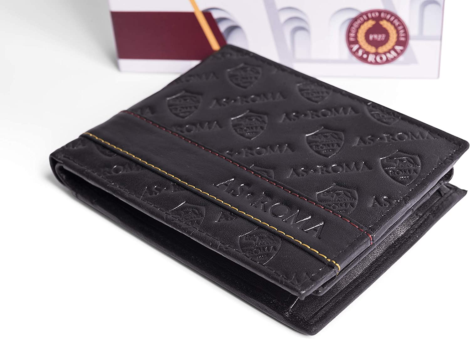 Taille Unique AS Roma 161176 Roma Portefeuille pour Homme