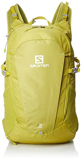 Salomon Trailblazer 30 Mochila Ligera para Senderismo o Ciclismo, 30 L, Unisex Adulto, Amarillo (Citronelle), Talla única: Amazon.es: Deportes y aire libre