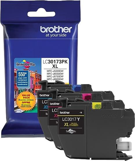 Amazon.com: Printer LC30173PK High Yield XL - Cartuchos de ...