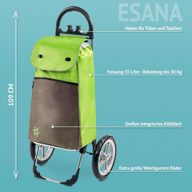 carrello portaspesa 108 cm marrone ESANA