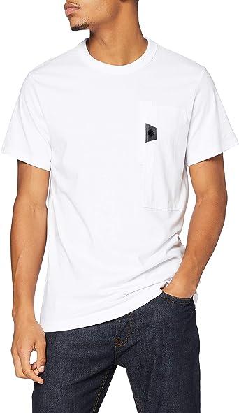 G-STAR RAW Logo Overdye Camiseta para Hombre