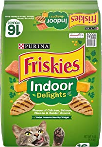Purina Friskies Indoor Delights Adult Dry Cat Food