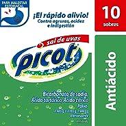 Antiácido, Picot Sal de Uvas, Caja con 10 sobres Efervescente en Polvo