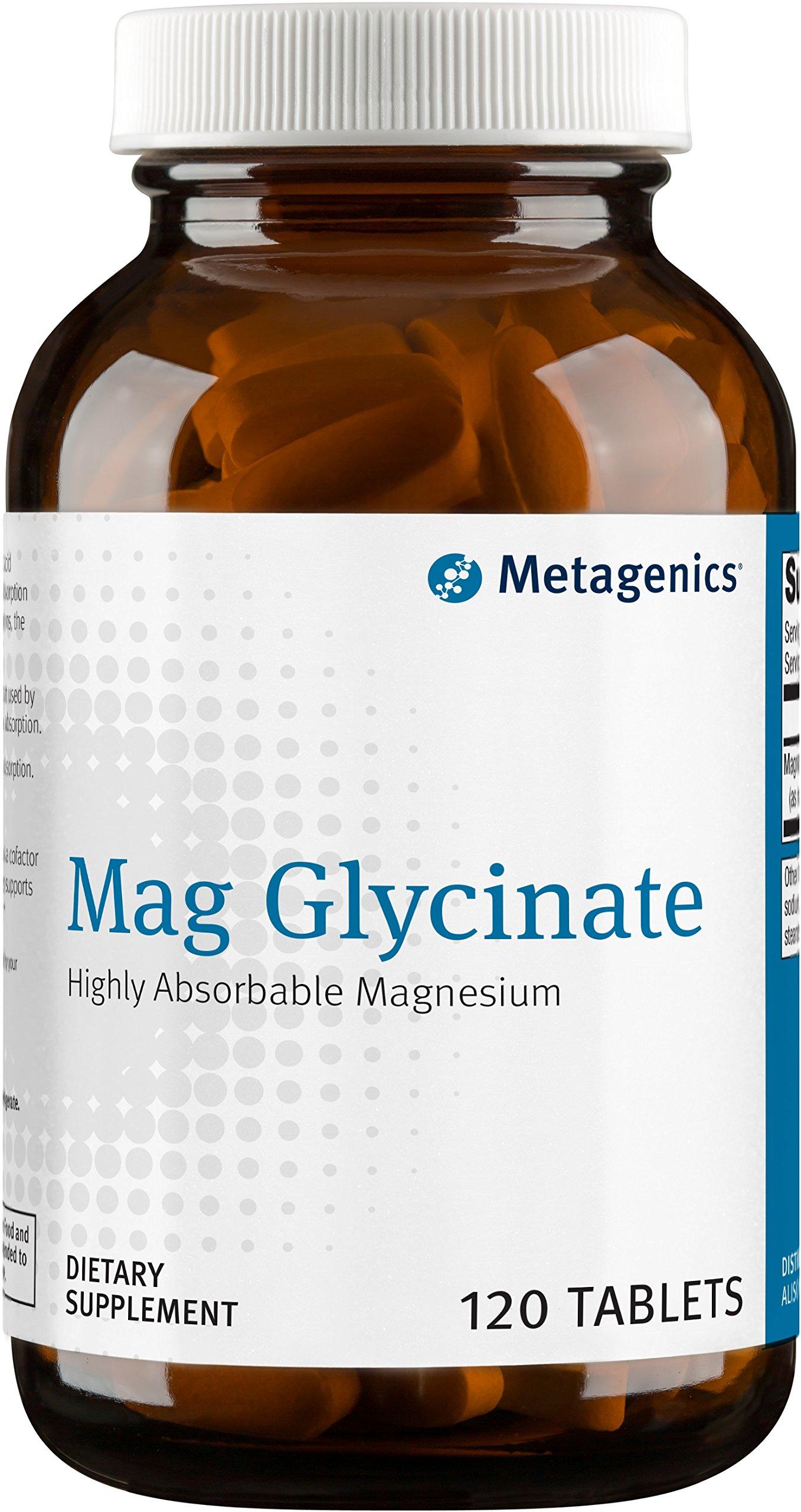 Metagenics - Mag Glycinate, 120 Count