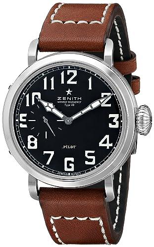 Zenith 031930681.21C - Reloj de pulsera hombre, color Marrón: Amazon.es: Relojes