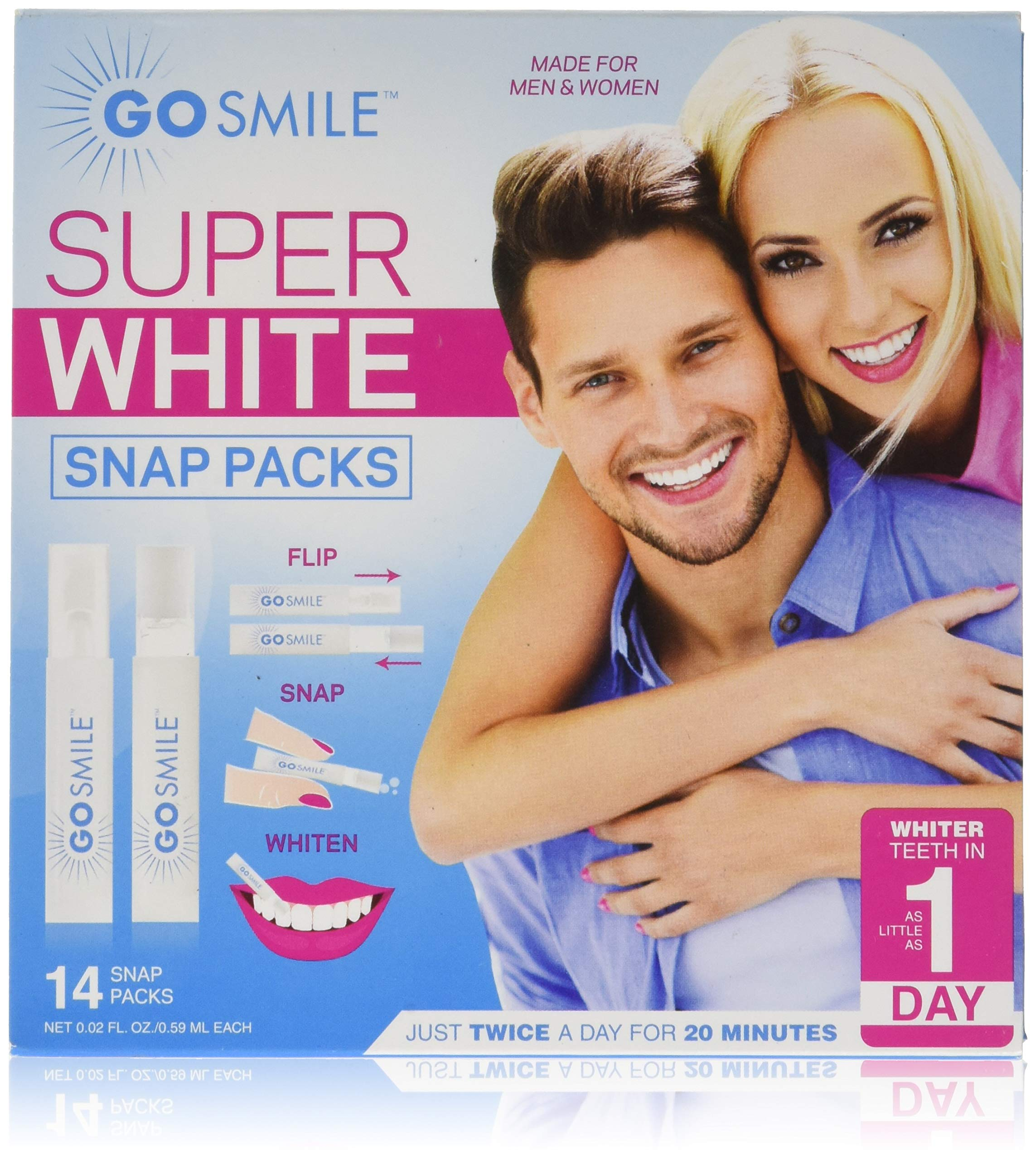 Go Smile Super White Professional Teeth Whitening The Second Kit I Received Is Snap Circuits Pro Sells For 97 95 System 14 Single Use Applicators Clinically Proven Up To 7 Shades Whiter In A Week
