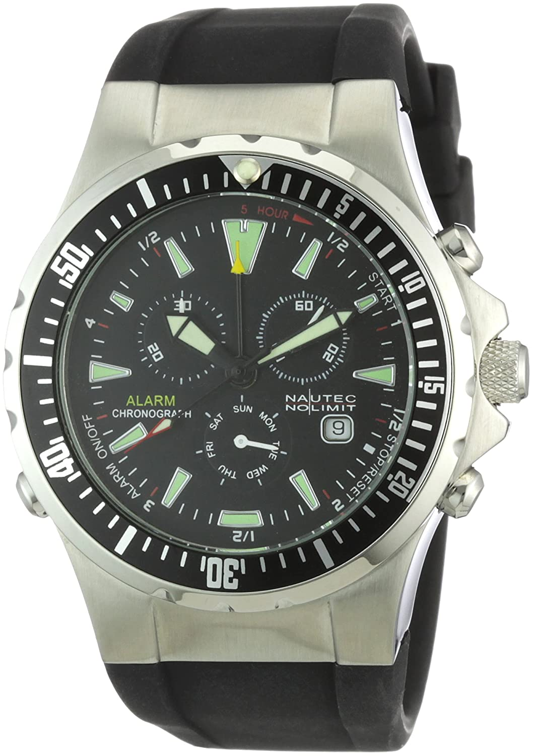 Nautec No Limit Herren-Armbanduhr Betta BT QZ-ALA-RBSTBKBK