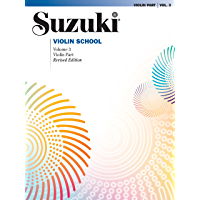 Suzuki Violin School - Volume 3 (Revised): Violin Part book cover