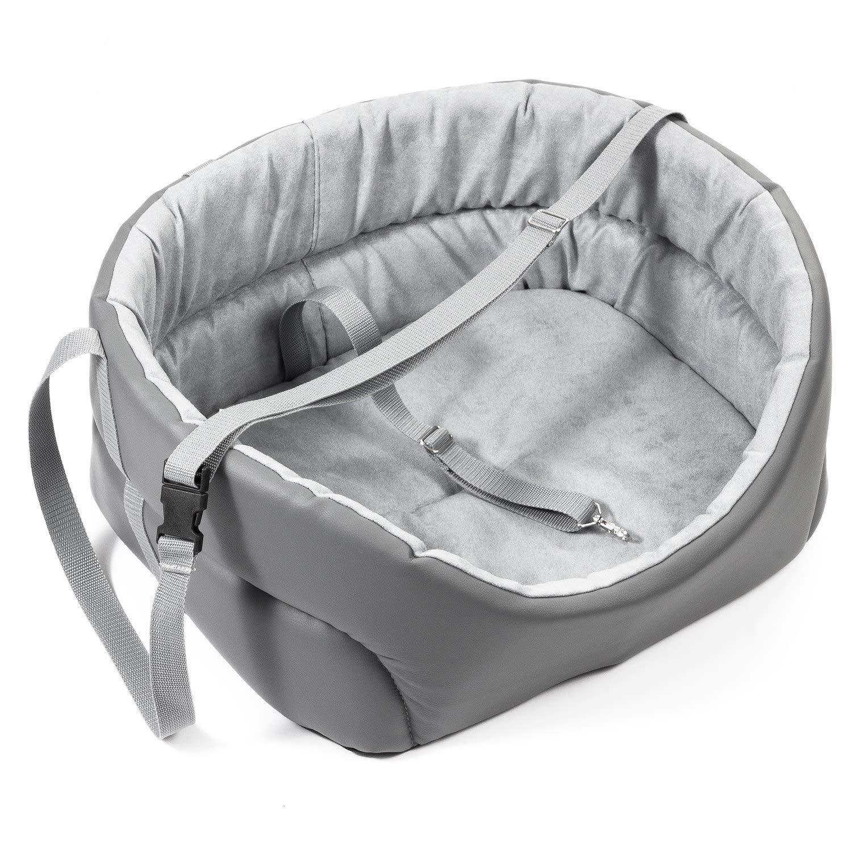 BoutiqueZOO Universal Washable Dog Car Seat for Small/Medium/Large Dogs