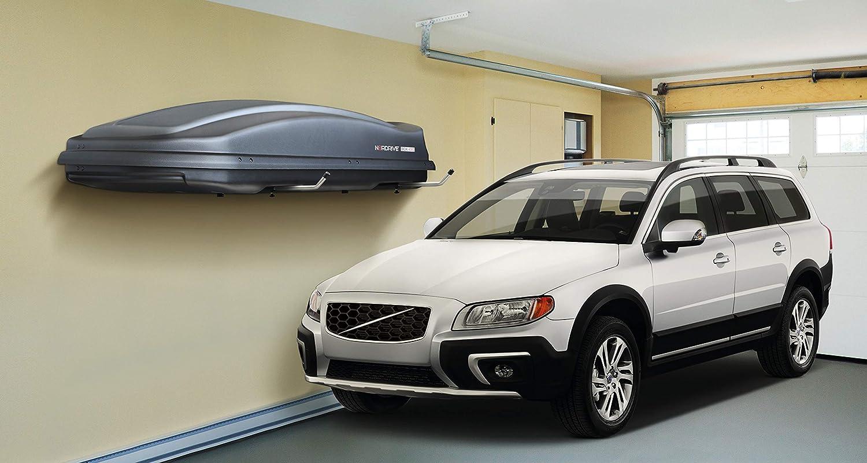 Orizzontale Nordrive N60050 Coppia supporti da parete per box tetto