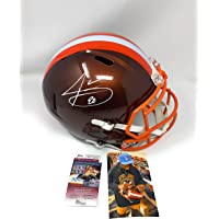 $225 » Jarvis Landry Cleveland Browns Signed Autograph RARE FLASH Full Size Speed Helmet JSA Witnessed Certified