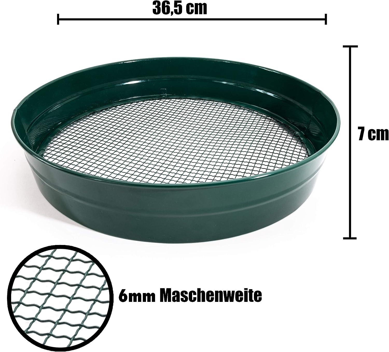 Erdsieb grün 38 cm Kunststoff