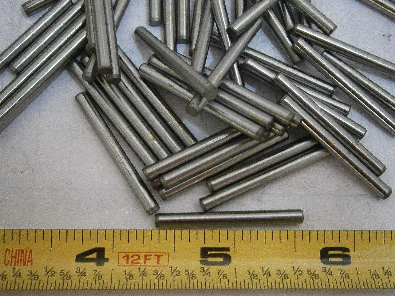 """Pin Dowel 3//16 x 1 1//4/"""" long steel qty 25 Lot of 25 w free shipping"""