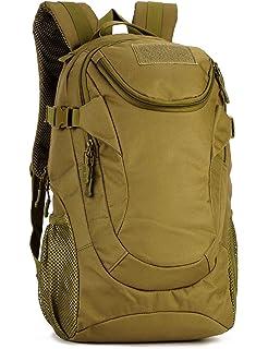 887f475e12789 Yakmoo Backpack Wasserdicht Rucksack Taktischer Militärstil Daypack Molle  System Schultasche 25L für Outdoors