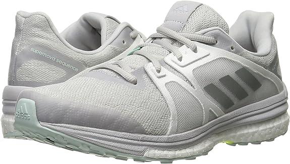 adidas W Supernova Sequence 9 Zapatillas de running gris claro/blanco (AQ3552), Gris (Gris sólido/plateado mate/blanco.), 35 EU: Amazon.es: Zapatos y complementos