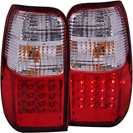 Anzo USA 311070 Toyota 4Runner Red/Clear LED Tail Light Assembly   (Sold In
