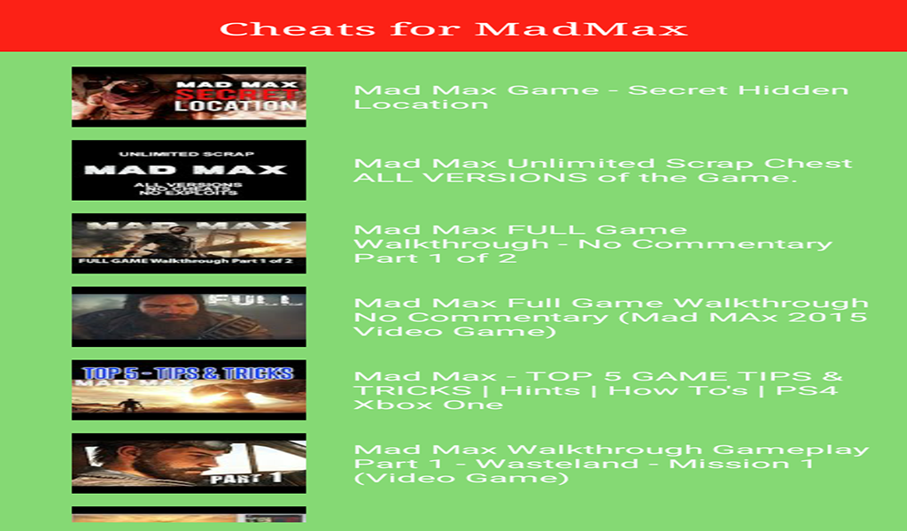 Guide for MadMax: Amazon.es: Appstore para Android