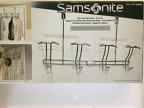 Samsonite para colgar de la puerta, 2 unidades, cromado ...