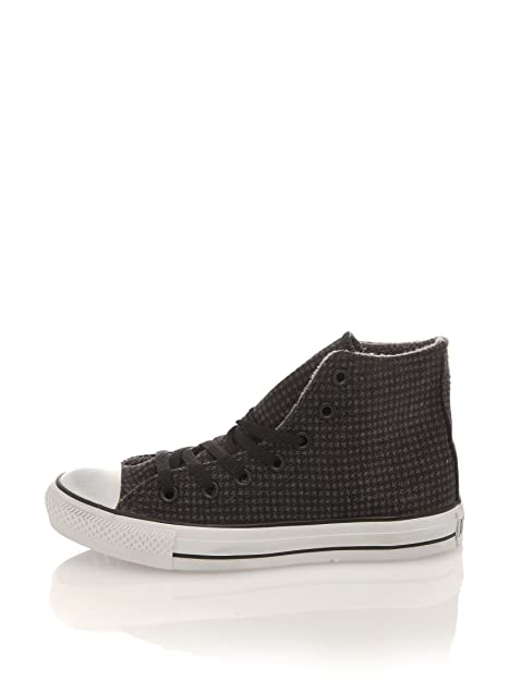 1e52d12a0 Converse Botines Altas All Star Fleece Print Hound Antracita EU 41   Amazon.es  Zapatos y complementos