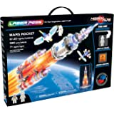 Laser Pegs Mars Rocket Light-Up Building Block Playset (580 Piece) The First Lighted Construction Toy to Ignite Your Child's Creativity; It's Your Imagination, Light It Up