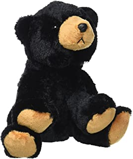 Wild Republic Black Bear Plush, Stuffed Animal, Plush Toy, Gifts for Kids,