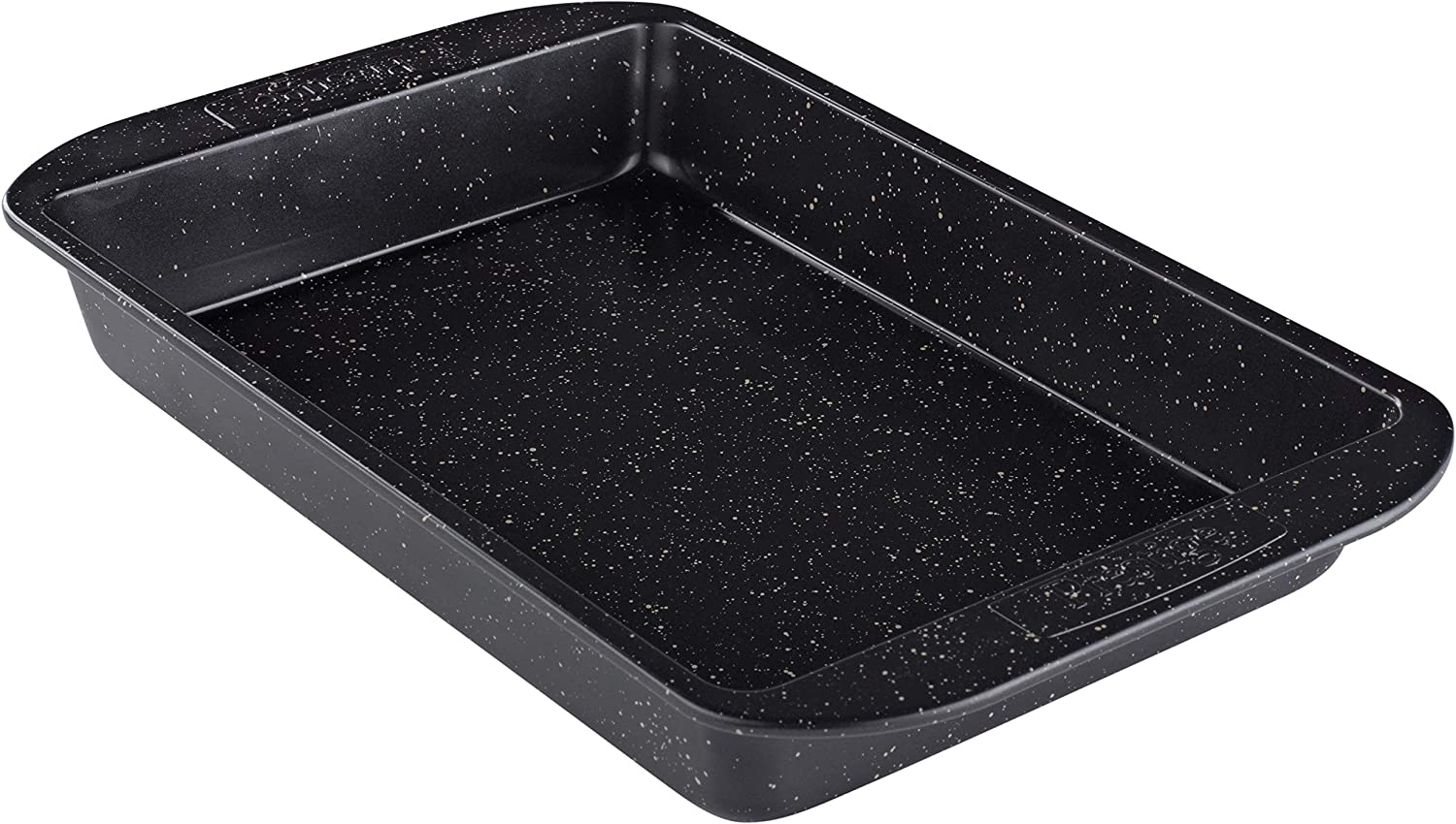 Prestige 47727 Nonstick Pan Cookie Baking Sheet, 12.5 Inch, Black with Gold Speckle