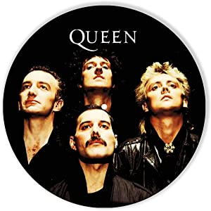 Queen Vinyl Decor, Wall Decor Painted Queen, Original Gifts for Music Lovers, The Best Gift for Souvenir, Unique Wall Art Home Decor