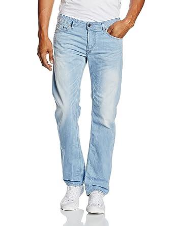43fb98d3 DIESEL Men's Waykee L.32 Jeans, Blue (Light Blue), W28 (