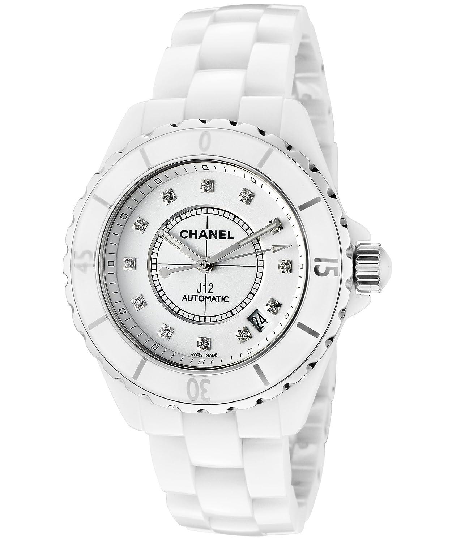 Chanel J12 - Esfera blanca automática de cerámica para mujer: Amazon.es: Relojes