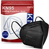 ChiSip KN95 Face Mask 20 PCs, 5-Ply Cup Dust Safety Masks, Breathable Protection Masks Against PM2.5 for Men & Women Filter E