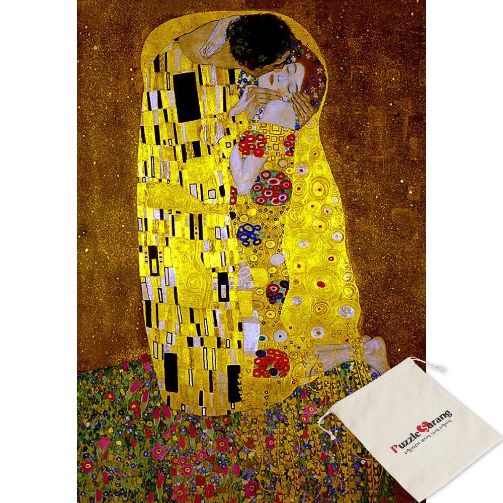 bienvenido a orden Puzzle Life Life Life Liebespaar el Beso - Gustav Klimt - 1000 Pieza Oro Metal Rompecabezas  edición limitada en caliente