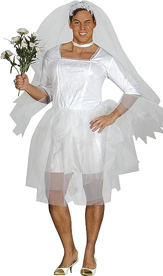 Guirca- Disfraz adulto novia hombre, Talla 52-54 (84395.0): Guirca ...