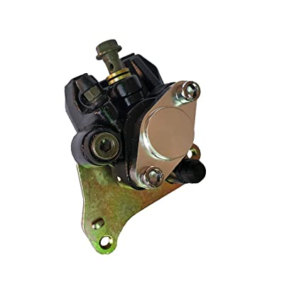 Komous Rear Brake Caliper Fits Honda TRX 400EX Sportrax 400 300 250 TRX400 1999-2004 with Pads: Automotive