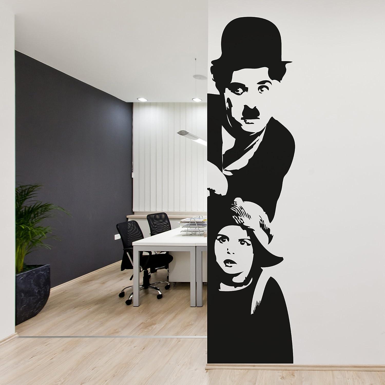 Wall stickers adesivi murali decorazioni nero audrey hepburn ...