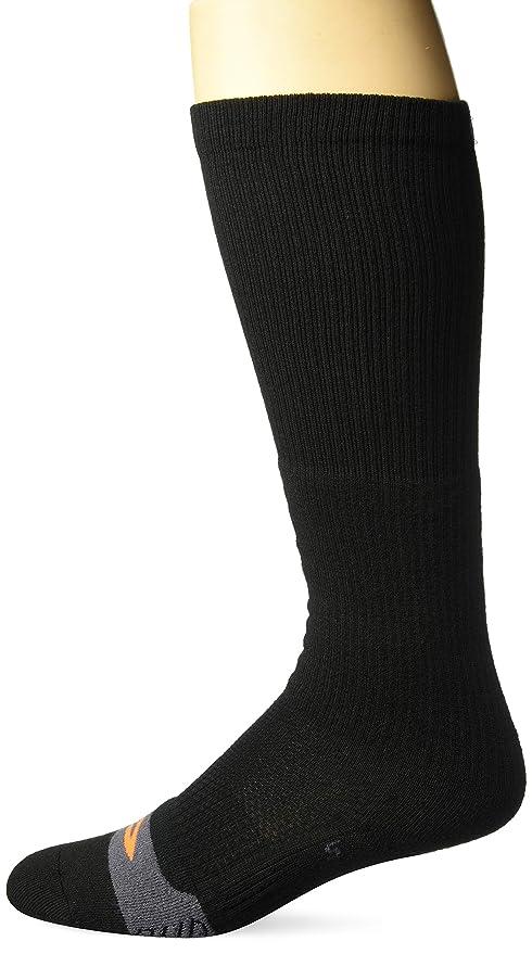 DeFeet THERMKHOR301 - Calcetines térmicos Altos para la Rodilla, tamaño Grande, Color Negro y