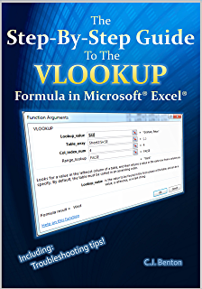 the vlookup book definitive guide to microsoft excel lookup