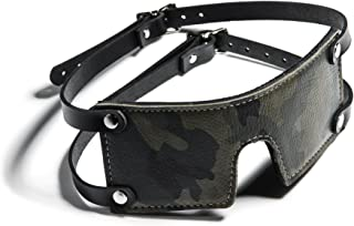 product image for Hartman Adjustable Camo Leather Blindfold