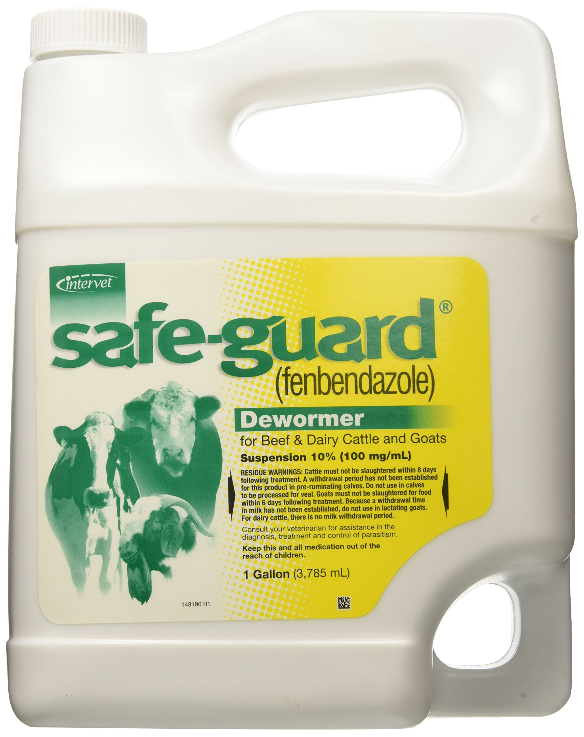 Vetoquinol Safeguard Suspension Pet Wormers, 1-Gallon