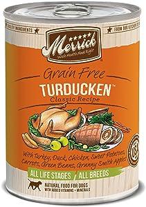 Merrick Classic Grain Free Turducken Wet Dog Food, 13.2 Oz, Case Of 12 Cans