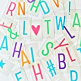 Pastel Letter Pack for Cinema Lightbox Marquee Letter Sign A4