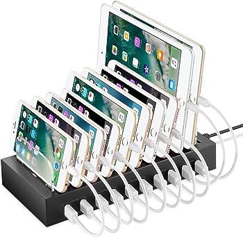 NEXGADGET Detachable10 Port USB Charging Station
