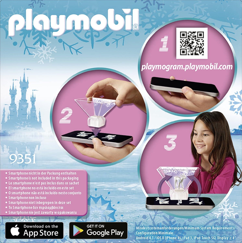 Playmobil 9351 Magic Playmogram 3D Ice Flower Princess